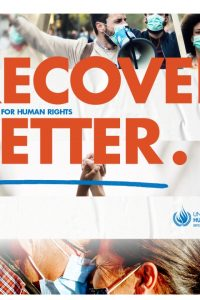 recover better – stand up for human rights